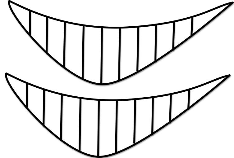 Sonrisas para colorear - Imagui